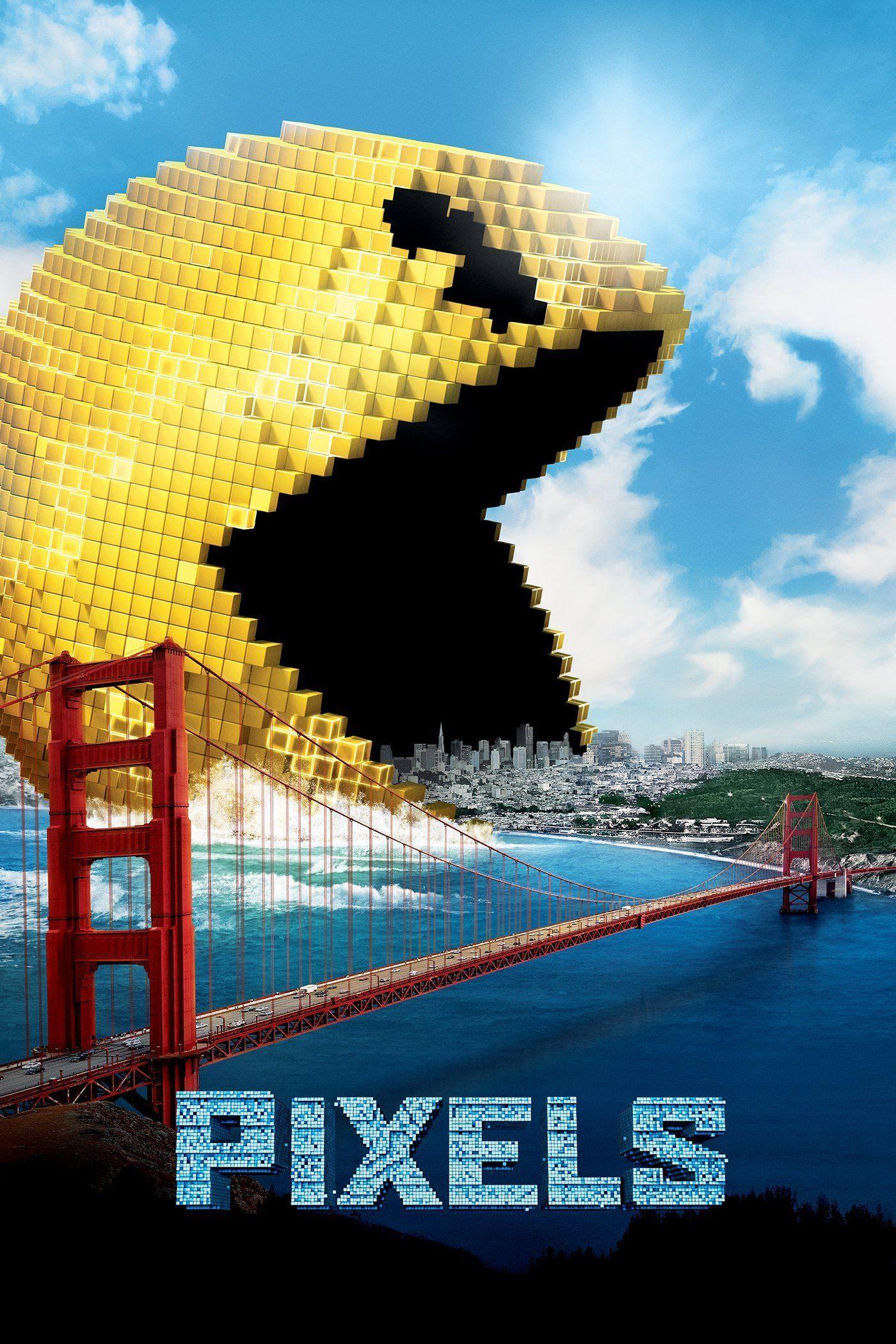 Pixels 3D Bluray Pixels movie, Full movies, Sci fi movies