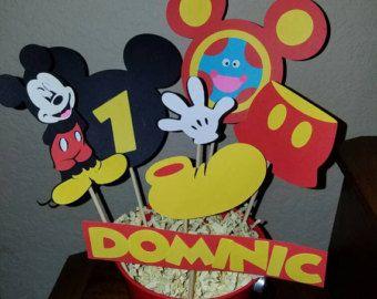 24 sombreros de fiesta de Mickey Mouse Clubhouse ddbe202fe34