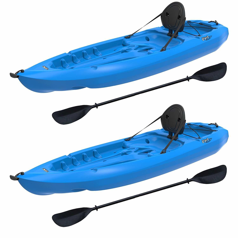 Lifetime Lotus Sit On Top Kayak With Paddle Kayaking