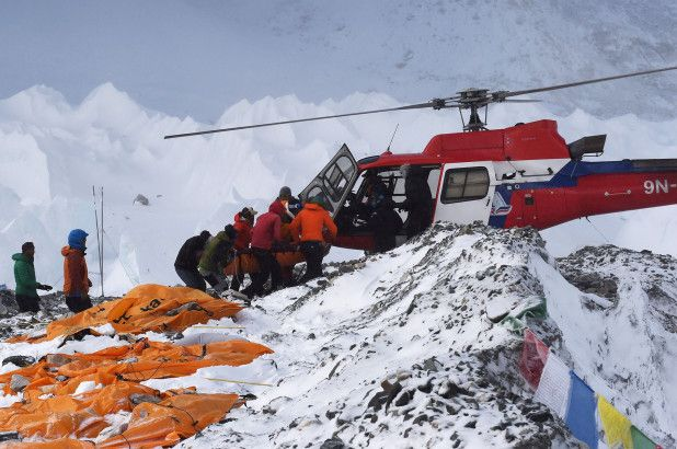 Mt. Everest's melting glaciers are revealing bodies of dead climbers