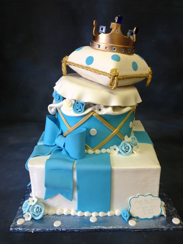 Cake With Crown For Boy : a cake for a boy prince ... cakes eko prasetiyo prince ...