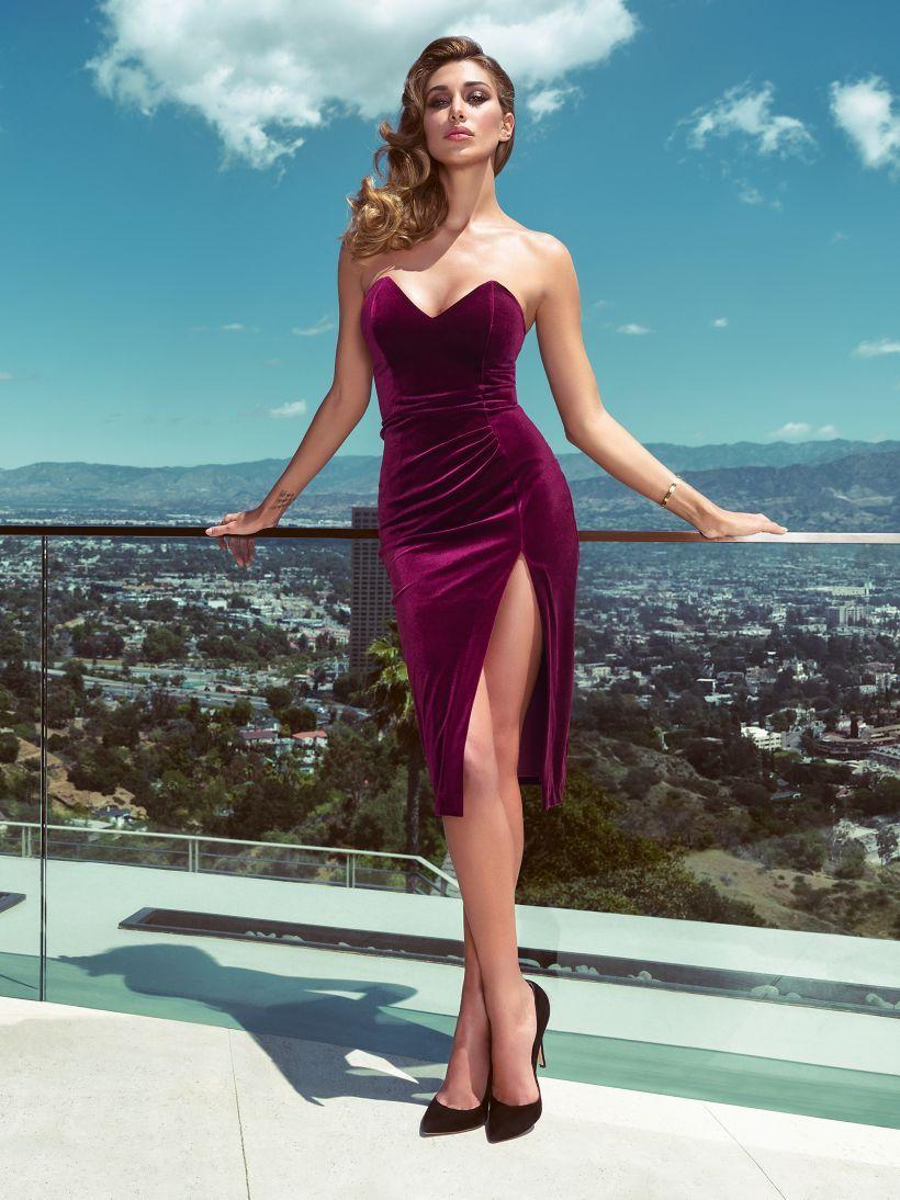 detailed look d6b12 cb4cb MARCIANO VELVET-LOOK DRESS | GUESS.eu | fashion | Abiti ...