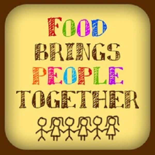 Food Brings People Together. Do You Agree? Please Share If