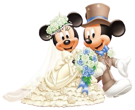 Mickey and Minnie Wedding   back to mickey s clipart mickey s pals ...