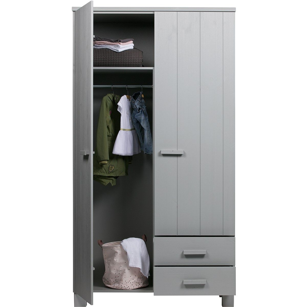 Dennis 2 Doors 2 Drawers Wardrobe In 2019 Living Room