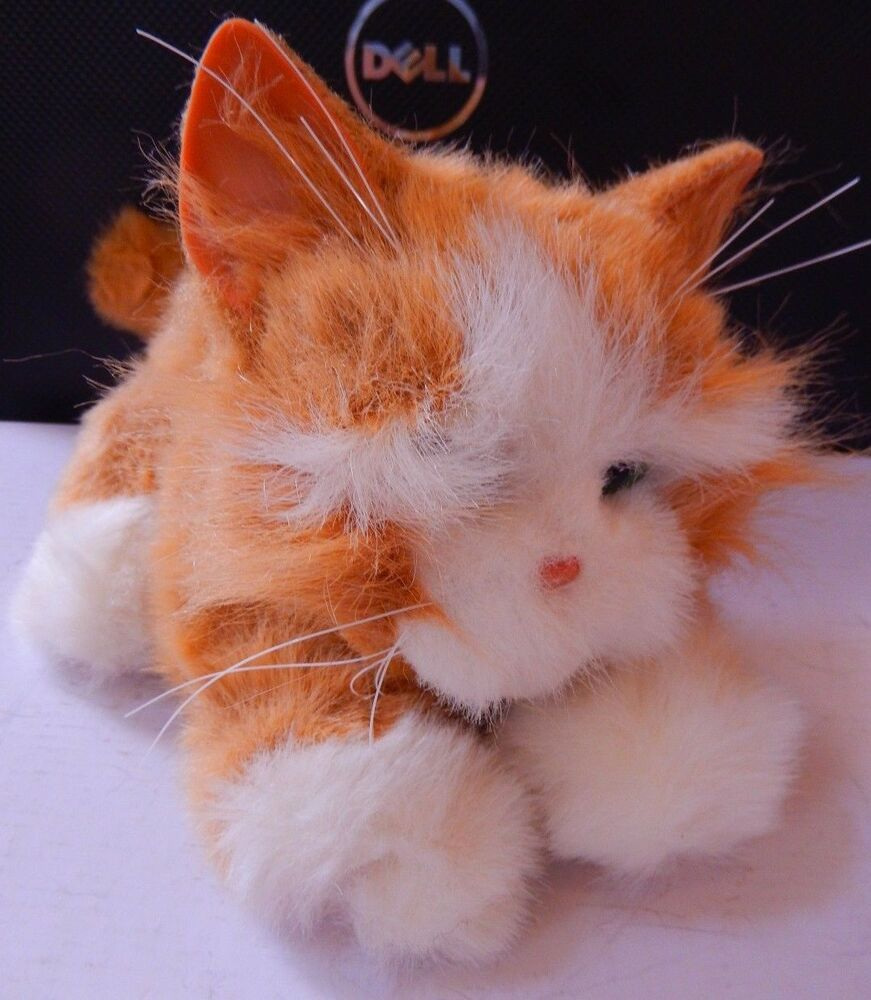 2002 Tiger Electronics Furreal Friends Kitten Cat Red White Interactive Meow 11 Tigerelectronics Fur Real Friends Cats And Kittens Giga Pet