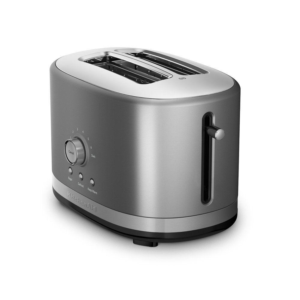 kitchenaid kmt2116cu 2 slice slot toaster with high lift lever rh pinterest com