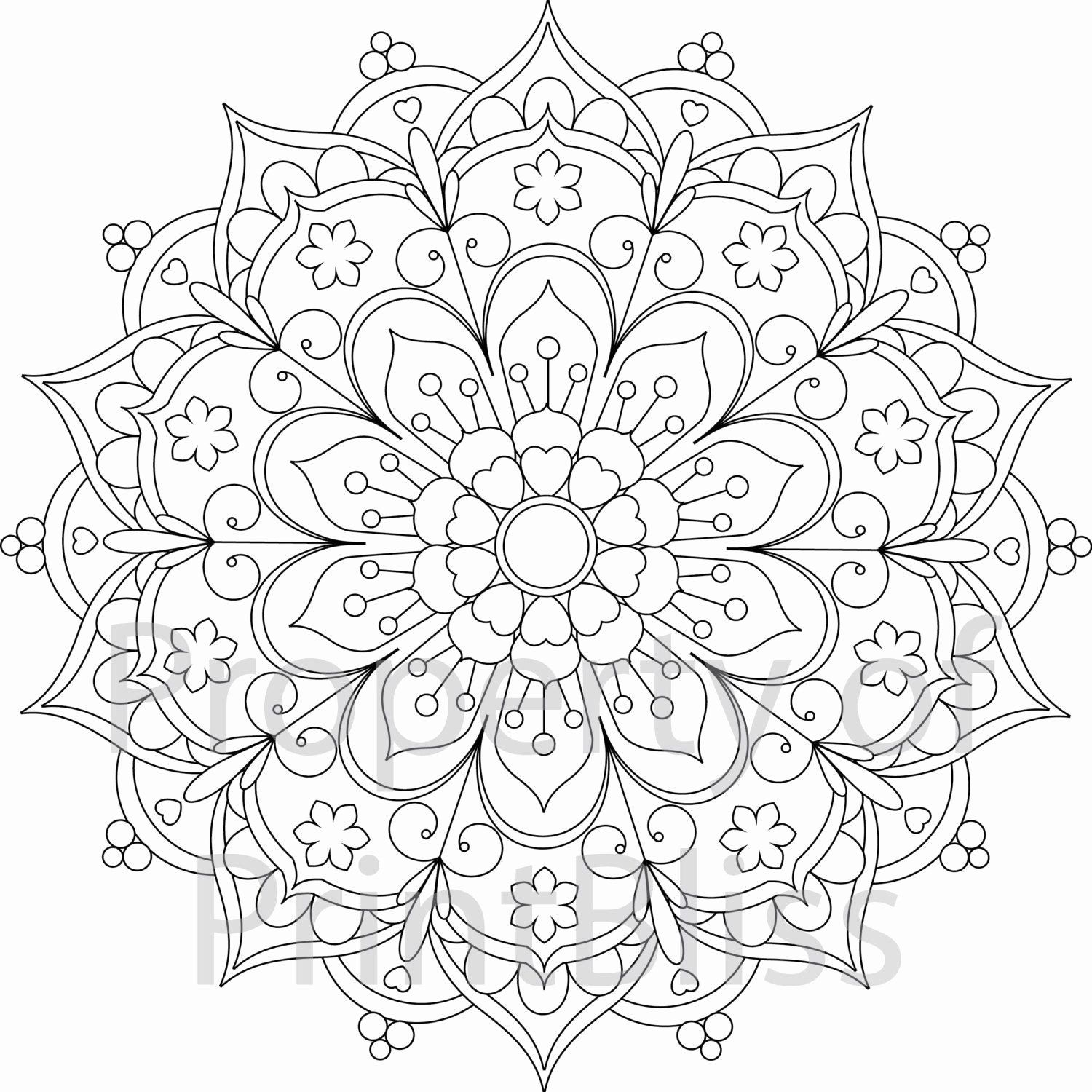 - Flowers Coloring Book Pdf Beautiful Coloring Book For Me And Mandala Fresh  Flowers Abstract In 2020