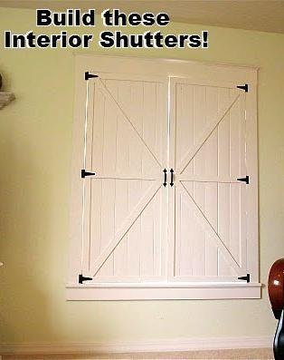 Charming Interior Shutters
