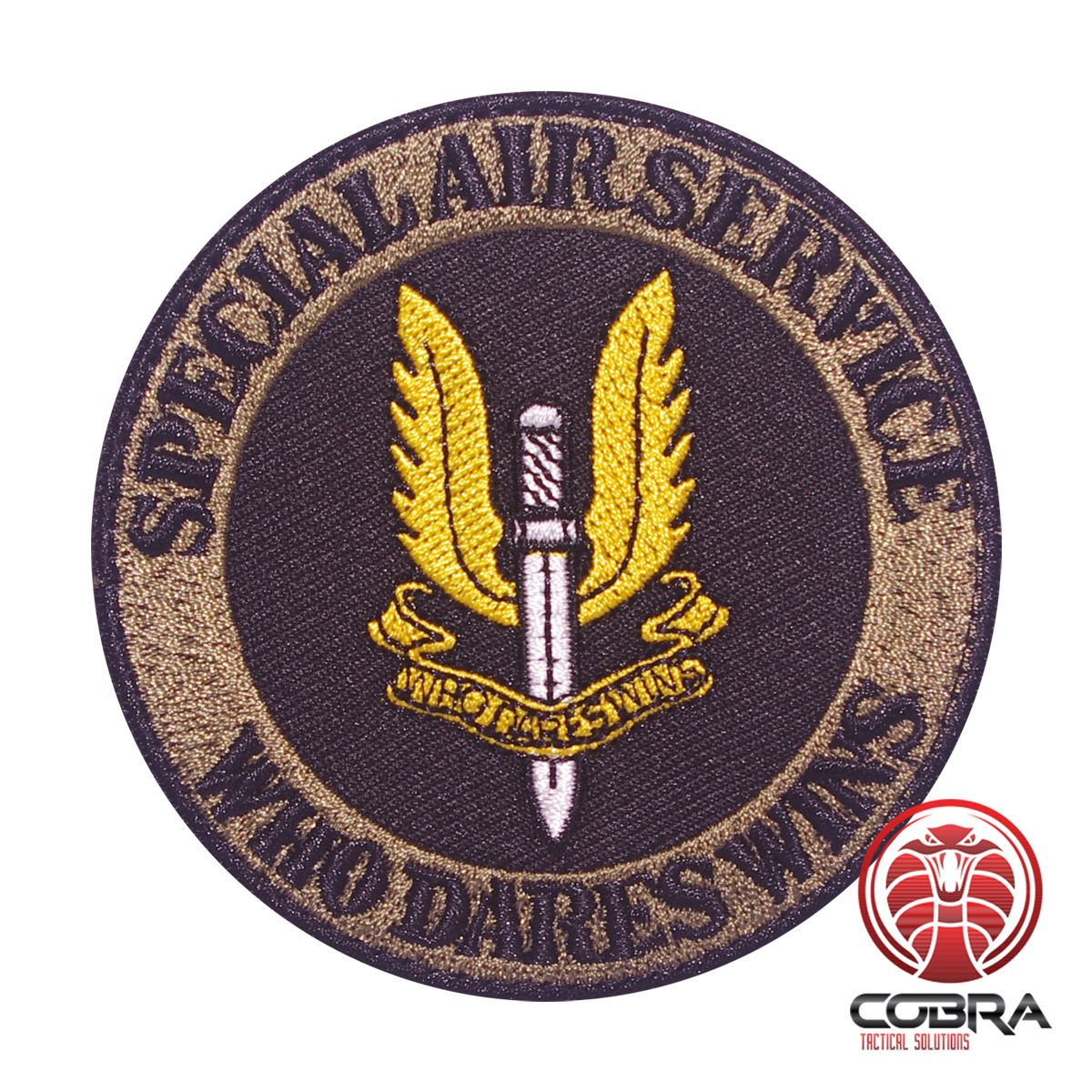 Special Air Service Who Dares Wins SAS embroidered Patch