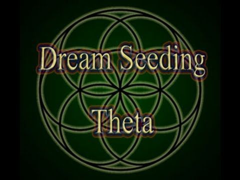Dream Seeding (5 Hz Theta binaural beats ) music tuned to 528