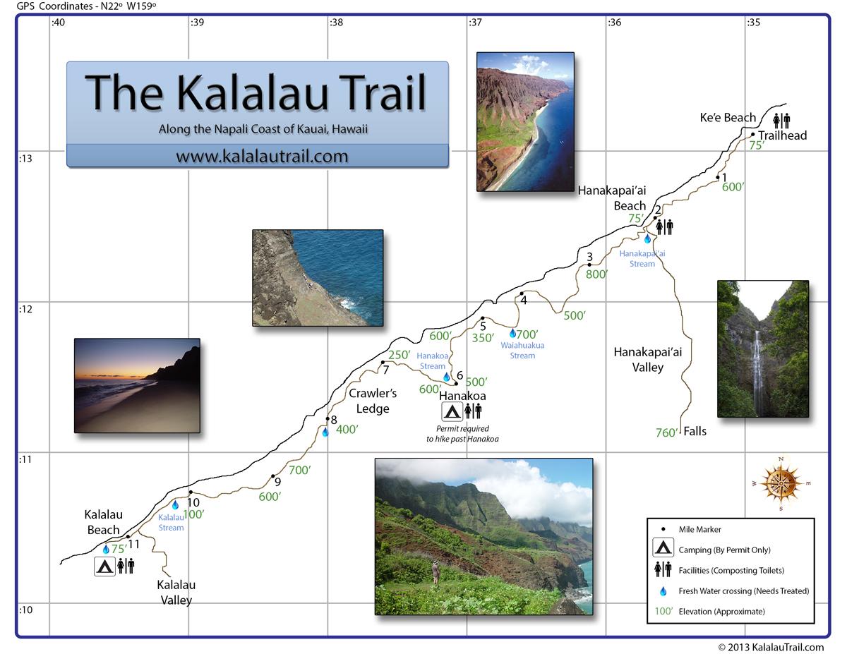 Kalalau Trail along the Na Pali Coast in Kauai Hawaii. I could not on wailua falls trail map, kauai kalalau trail deaths, kamuela hawaii map, kokee state park trail map, kauai island, kauai fire dept, kauai kalalau trail permits, waimea canyon state park map, koaie canyon trail map, kauai deaths 2013, maui trail map, waimea canyon trail map, kauai animals, waimea canyon road map, nebraska recreational trail map, kauai hunting maps, kukui trail map, pihea trail map, na pali trail map, kauai wilderness preserve,