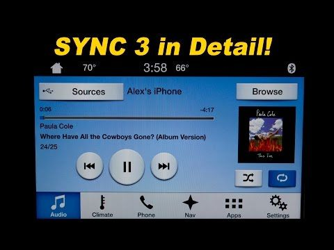 How To Use Ford S Sync 3 Navigation System Informational Ford