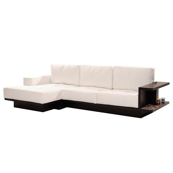 Sensational Trinity White Sofa W Left Chaise Furniture White Corner Cjindustries Chair Design For Home Cjindustriesco
