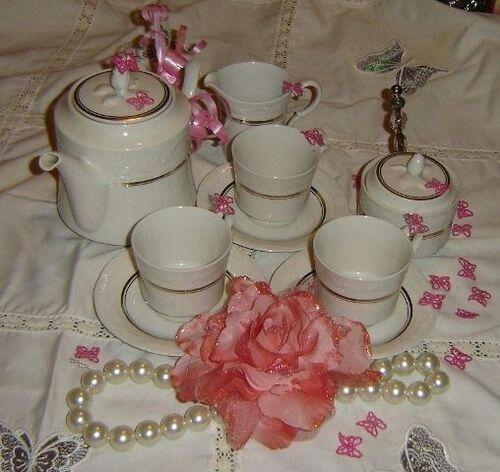 Lovely tea set...