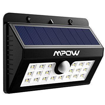 Eclairage Escalier Sans Fil 20 lampe solaire jardin led sans fil, mpow luminaire exterieur