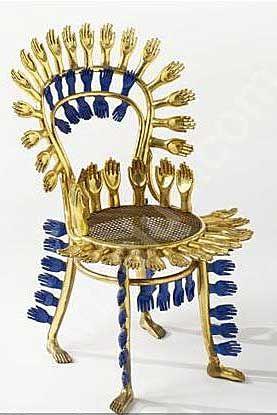 Friedeberg Centipede Chair