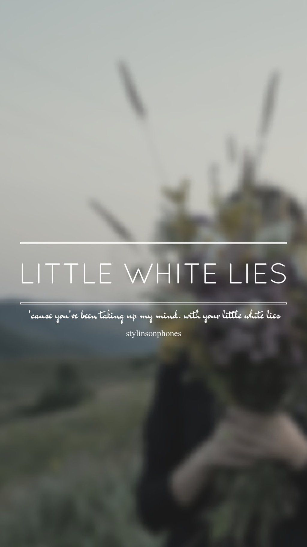 Little White Lies One Direction Ctto At Stylinsonphones