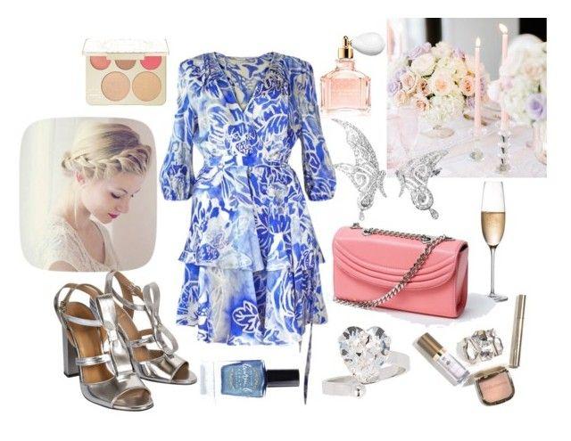 """""""Summer Wedding"""" by runway2street ❤ liked on Polyvore featuring Otazu, Plakinger, De Siena, Becca, RogaÅ¡ka, Lauren Cecchi, Guerlain and Lauren B. Beauty"""