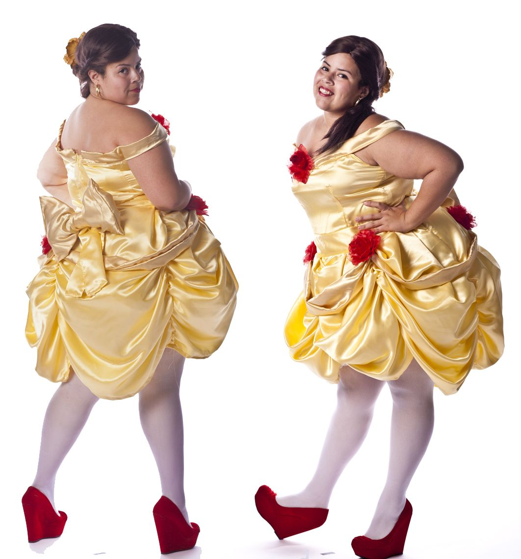 cosplay, plus size, Beauty and the Beast, Belle, Disney, princess ...