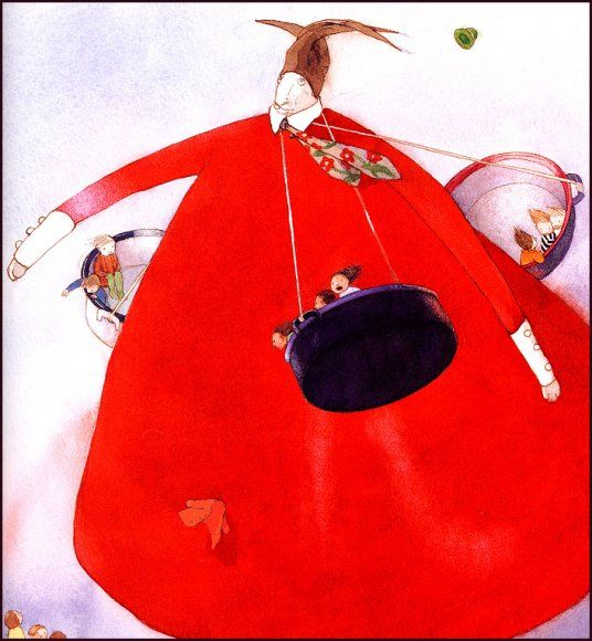 :: Sweet Illustrated Storytime :: Illustration by Lisbeth Zwerger :: The Big Laloola