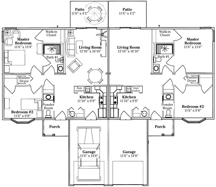 Lima Senior Living Community Floor Plans