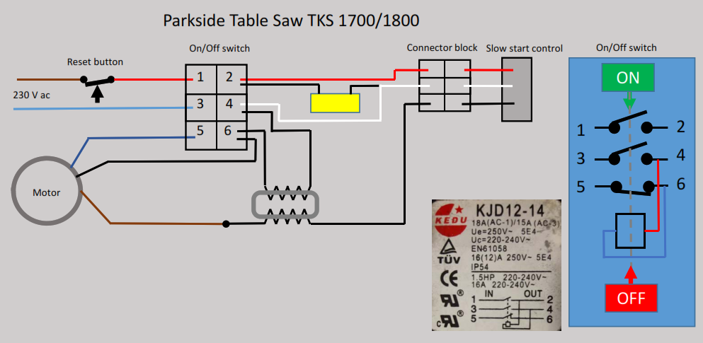 Admirable Parkside Ptks1800 Wiring Parkside Table Saw Tks 1700 1800 Wiring Wiring Cloud Brecesaoduqqnet