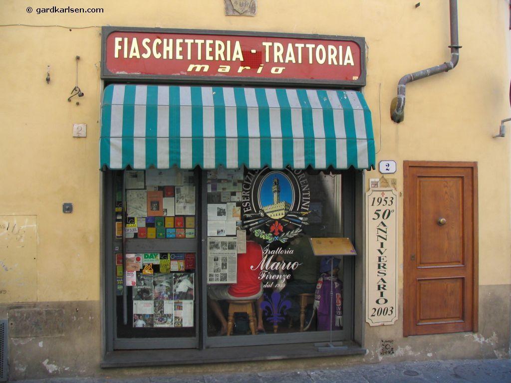 Trattoria Mario Firenze Con Imagenes