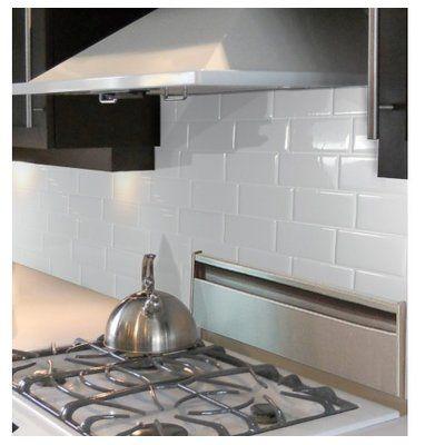 Mosaik Metro Blanco10 X 11 Gel Peel Stick Mosaic Tile Smart Tiles Stick On Tiles Backsplash