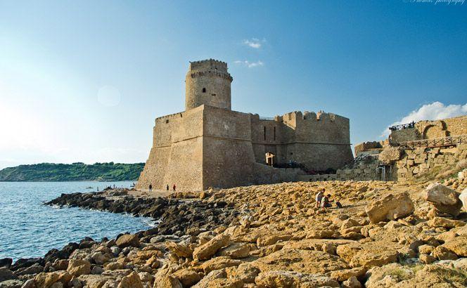 Le Castella, Capo Rizzuto, Calabria.