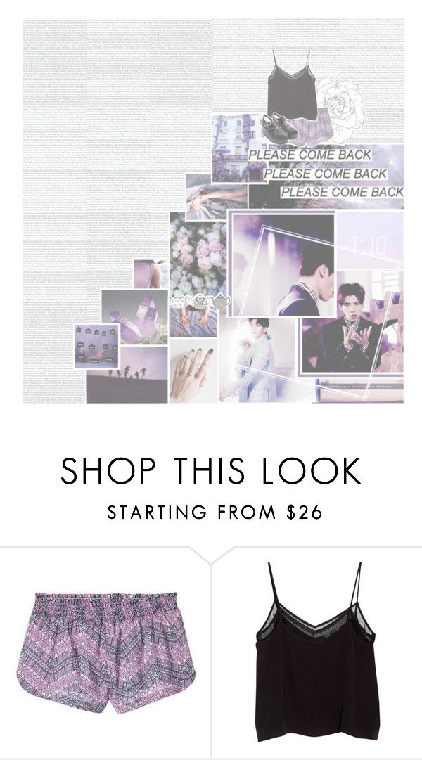 """""""so this is heartache"""" by xiuhans ❤ liked on Polyvore featuring Victoria's Secret, MANGO, kpop, vixx and hyuk"""