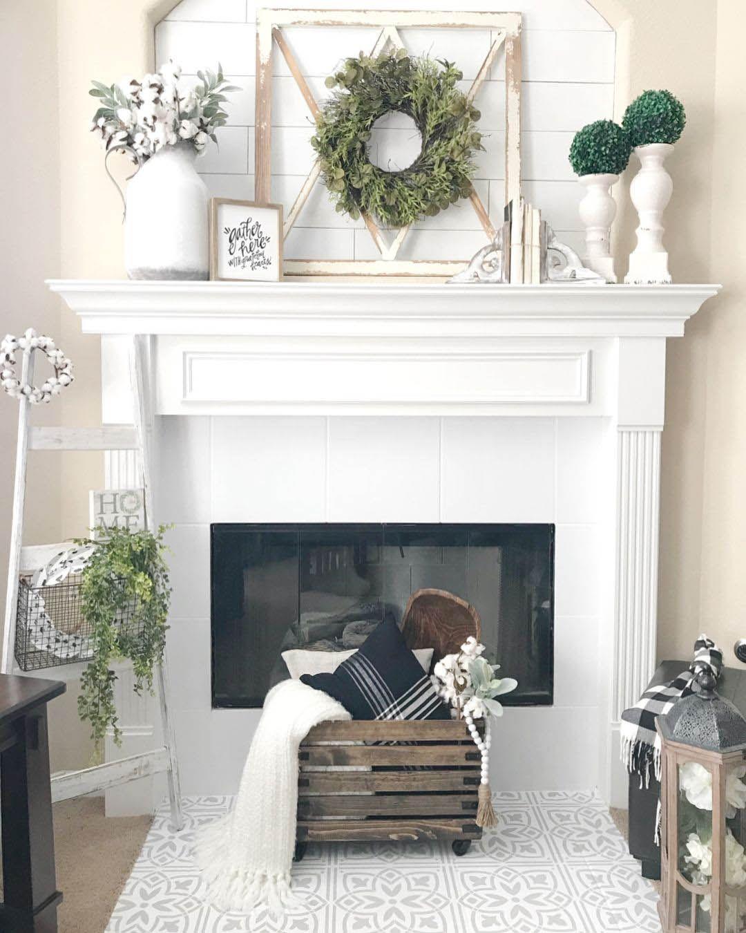 Fire Place Decorating Ideas Fireplace Mantle Decor Farmh