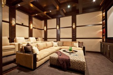 Home Theaters Examples In Design Media Room Design Home