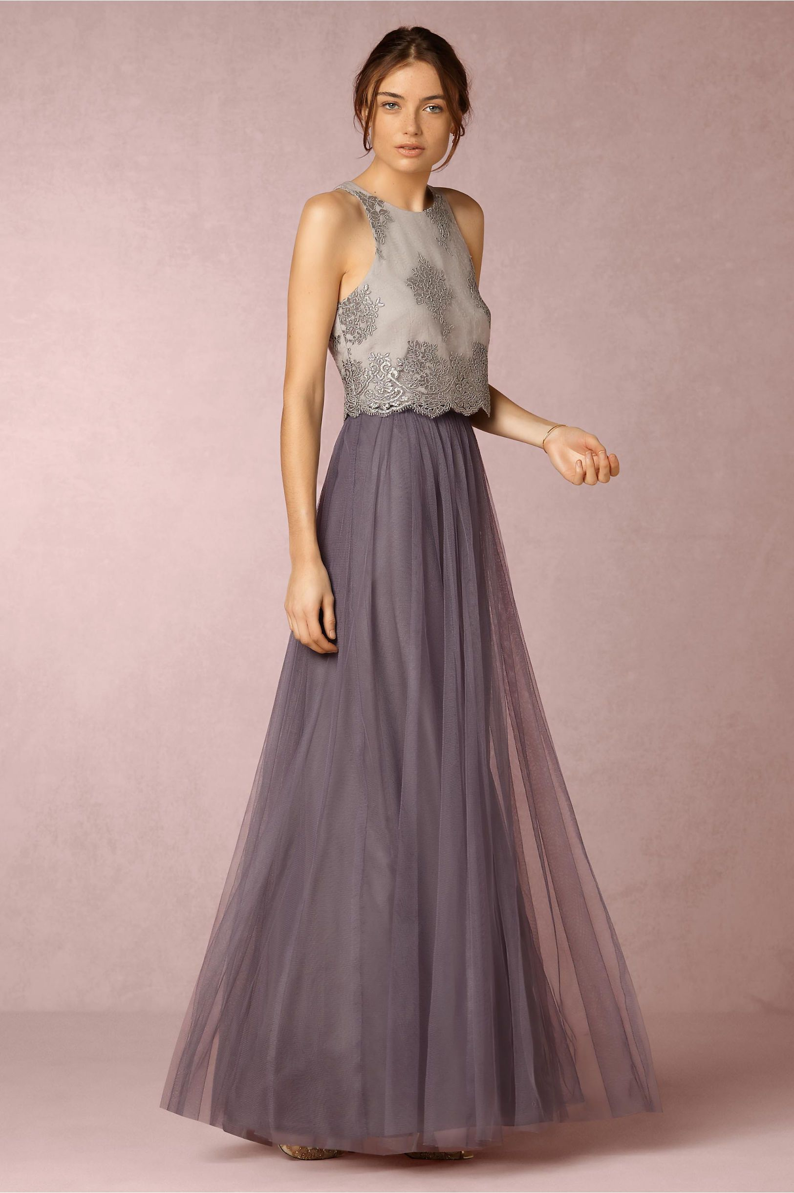 BHLDN Bea Top & Louise Tulle Skirt in Bridesmaids Bridesmaid Dresses ...