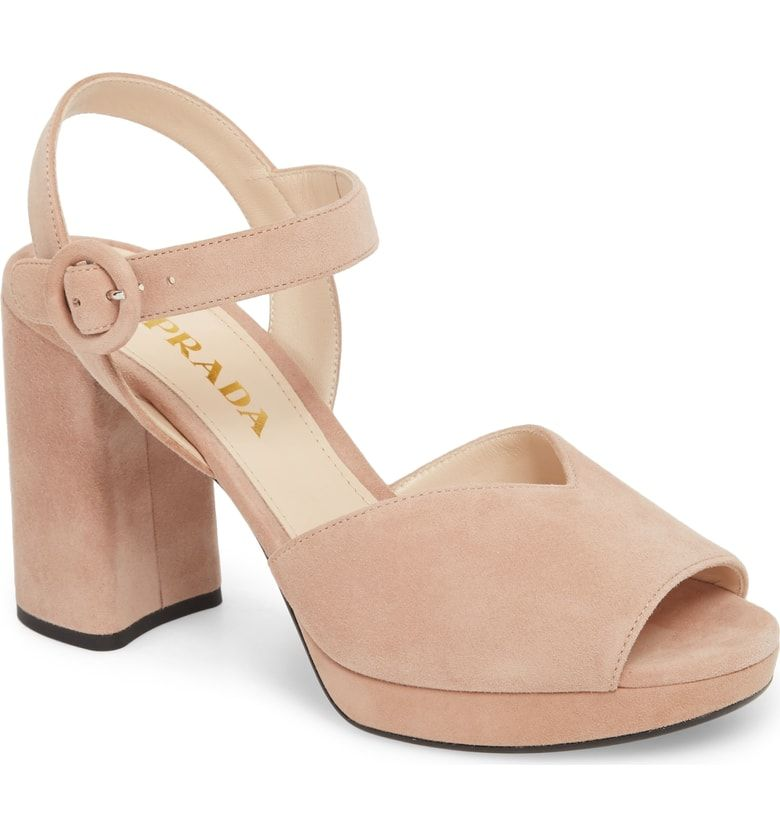 90d41667ddb1 Free shipping and returns on Prada Platform Sandal (Women) (Nordstrom  Exclusive) at