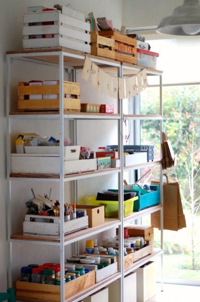 La renovación de mi taller y playroom