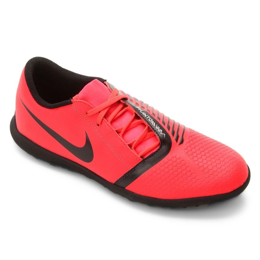 Chuteira Society Nike Bravata 2 TF Azul e Preto