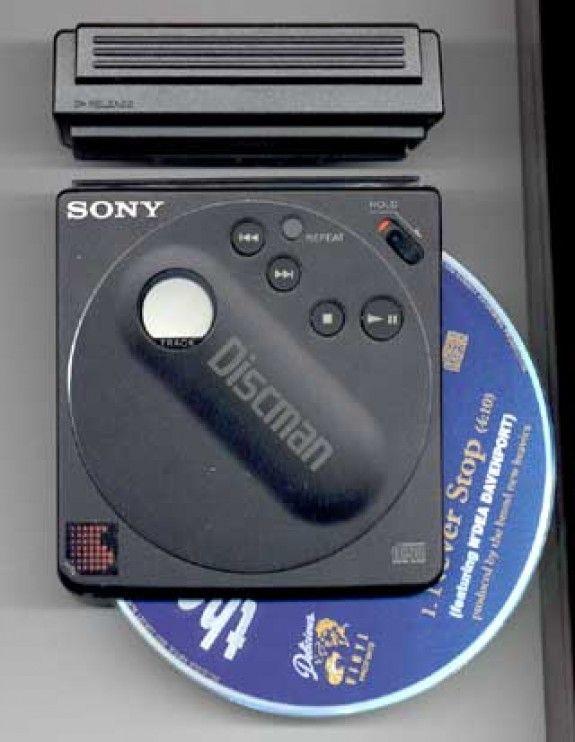 Top Ten Classics gallery - Sony D-88 Discman
