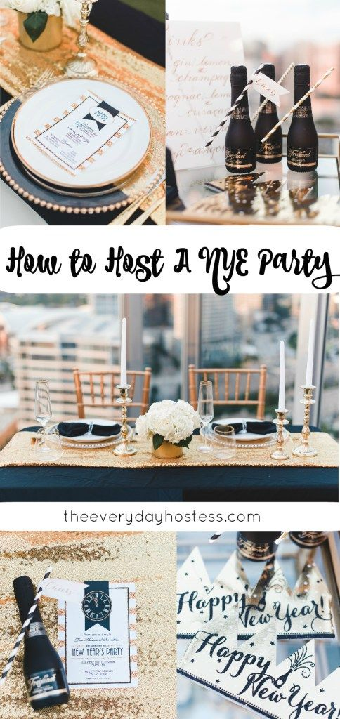 Nye Dinner Party Ideas Part - 33: How To Host A NYE Dinner Party | The Everyday Hostess | 6 Tips And Tricks