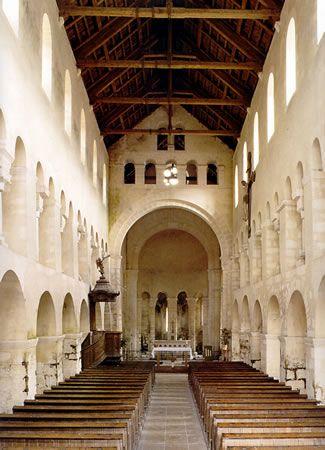 Iglesia San Esteban de Vignory, Francia (Románica)