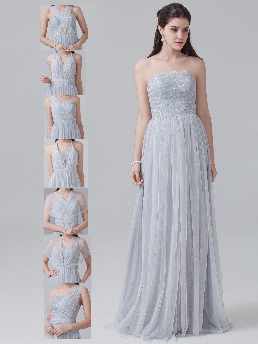 Convertible lace tulle dress lara wedding pinterest tulle convertible lace tulle dress ombrellifo Choice Image