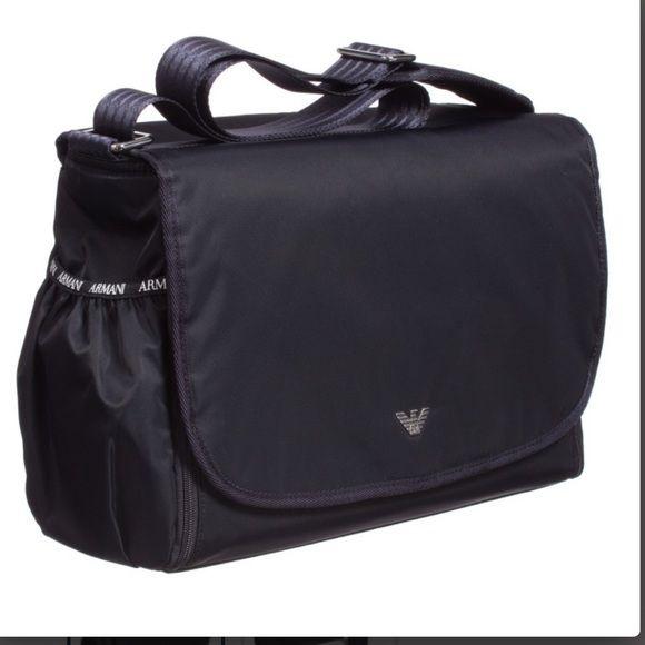 Brand New ARMANI Diaper bag!! Brand new with tags Georgio Armani Dark dark  Navy 61856cd753fe8