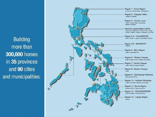 Camella Locations around the Philippines | Camella Homes