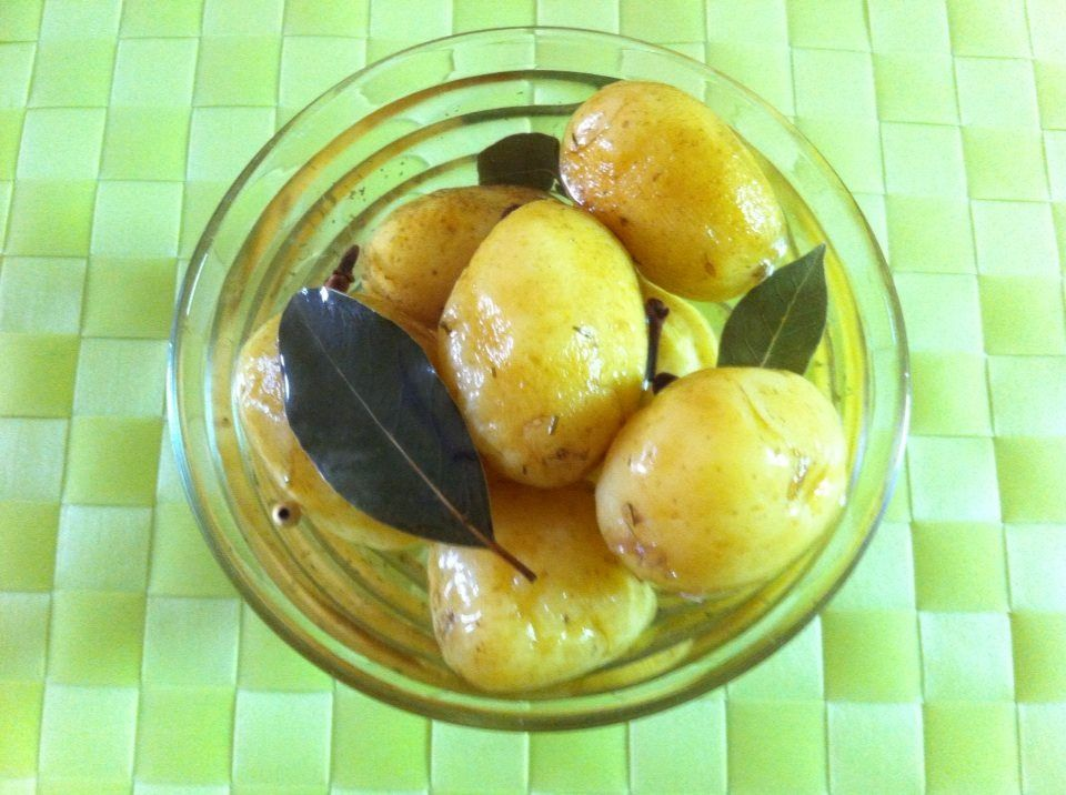 Pickled potatoes - a new way for the potatoes