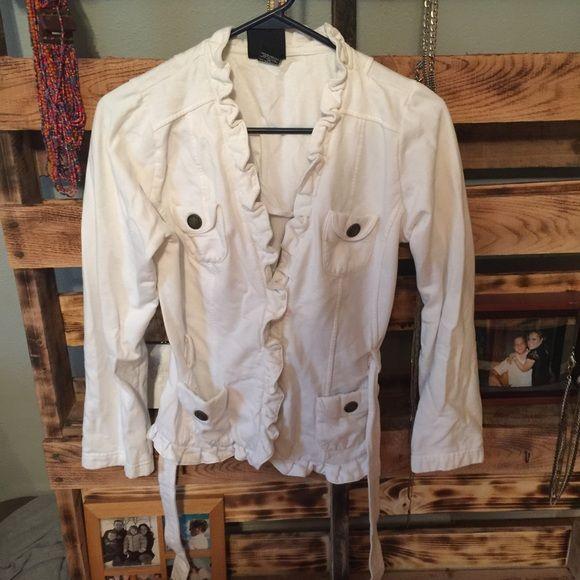 White sweatshirt Worn no stains no longer soft inside Tops Sweatshirts & Hoodies