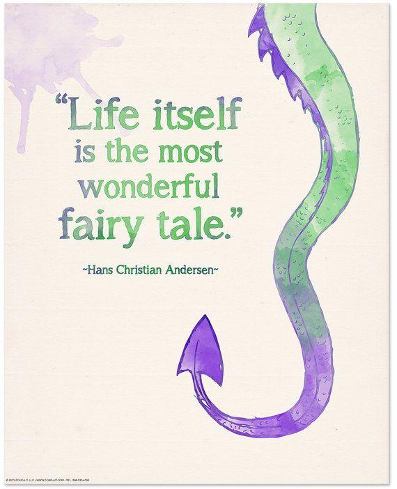 Hans Christian Anderson Wonderful Fairy Tale Children's   Etsy