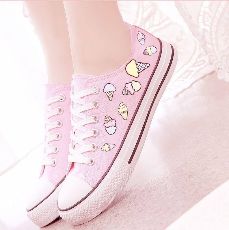 criança para sempre … | Sapatos, Sapatos diy, Sapatos kawaii