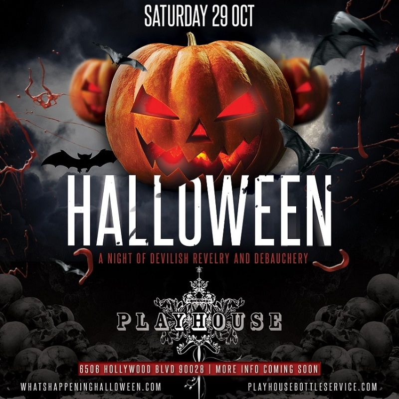 Pin On Halloween Events Los Angeles Hollywood Roundup Of Halloween 2016 Best Events