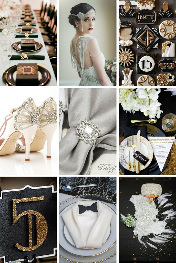 Old Fashioned Great Gatsby Wedding Theme Ideas Component - Wedding ...