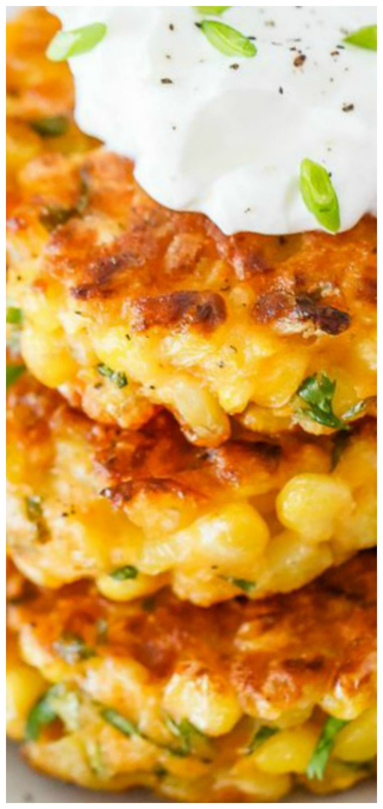Cheesy Corn Fritters images